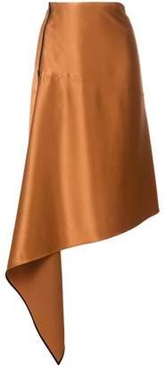Petar Petrov asymmetric A-line skirt
