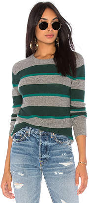 Autumn Cashmere Rugby Stripe Sweater