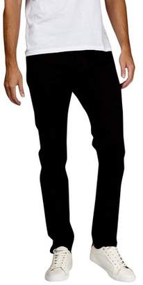 Burton Mens Tall Black Stretch Carter Tapered Fit Jeans