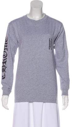 Chrome Hearts Graphic Print Long Sleeve Top