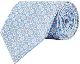 Stefano Ricci Silk Mediterranean Print Tie