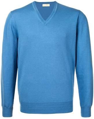Gieves & Hawkes V-neck sweatshirt