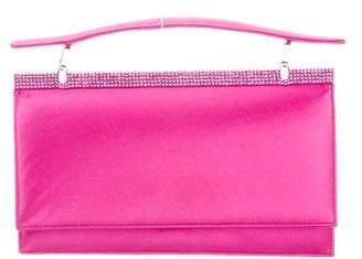Judith Leiber Crystal-Embellished Handle Bag
