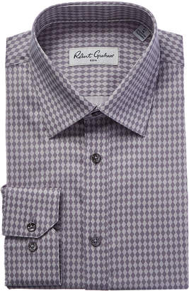 Robert Graham Diam Modern Fit Dress Shirt