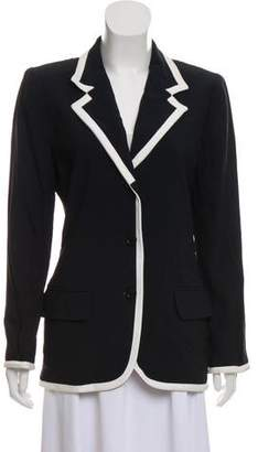 Ungaro Structured Notch-Lapel Blazer