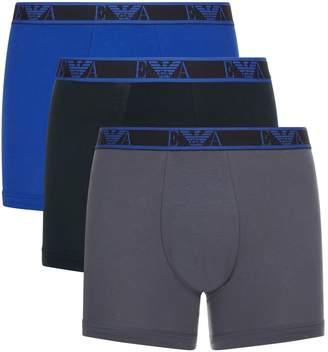 Emporio Armani Stretch Cotton Boxer Briefs