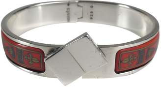 Hermes Clic H silver bracelet