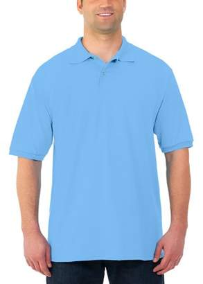 JERZEES Mens SpotShield Stain Resistant Short Sleeve Polo, available up to 3XL