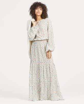 Ralph Lauren Floral Gauze Dress