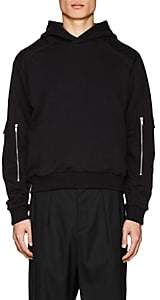 GmbH Men's Cotton Pocket-Sleeve Hoodie - Black