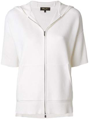Loro Piana shortsleeved zipped jacket