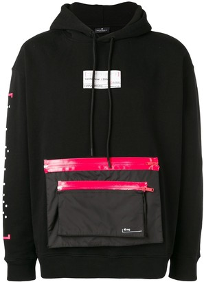 Marcelo Burlon County of Milan Confidencial zip pocket hoodie