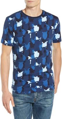 Knowledge Cotton Apparel KnowledgeCotton Apparel Allover Owl Print T-Shirt