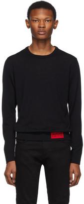 Versace Black Knit Sweater