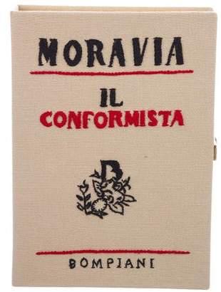 Olympia Le-Tan Moravia Il Confirmista Book Clutch