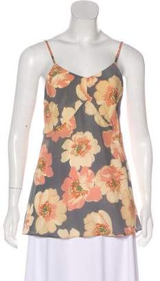 Raey Floral Sleeveless Top