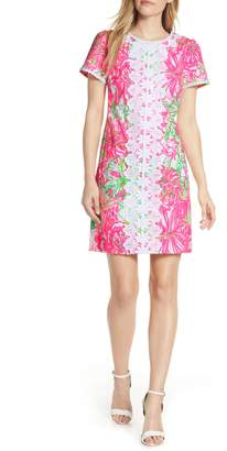 Lilly Pulitzer R) Maisie Stretch Pique Shift Dress