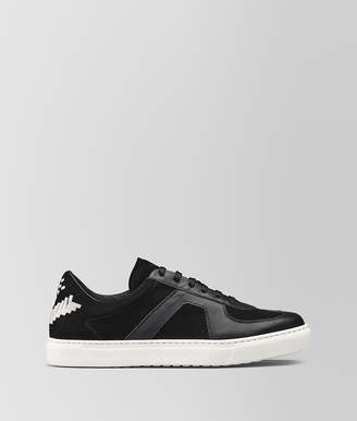 Bottega Veneta SNEAKER IN CALF AND SUEDE