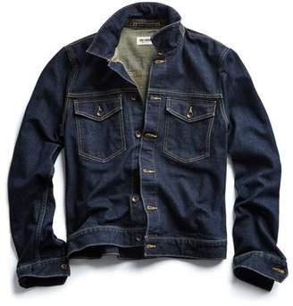 Todd Snyder Japanese Stretch Selvedge Denim Jacket in Rinse Wash