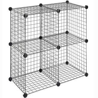 Whitmor 4-pk. Wire Storage Cubes
