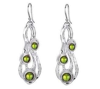 Hagit Gorali Sterling Cultured Freshwater PearlDangle Earring