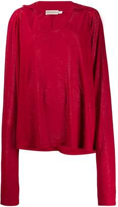 Giorgio Armani Pre-Owned 1990's oversized sleeves top
