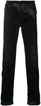 Diesel Black Gold skinny spots jeans