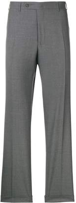 Canali straight leg suit trousers
