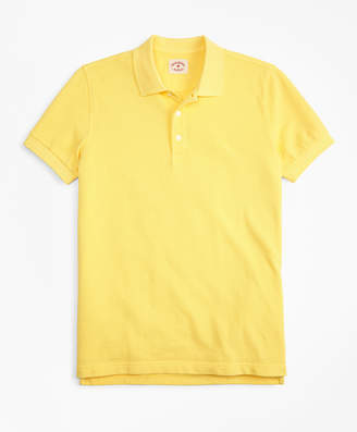 Brooks Brothers Garment-Dyed Cotton Pique Polo Shirt