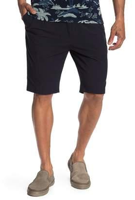 Scotch & Soda Chic Pleated Seersucker Bermuda Shorts