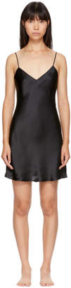Simone Perele Black Dream Silk Slip Dress