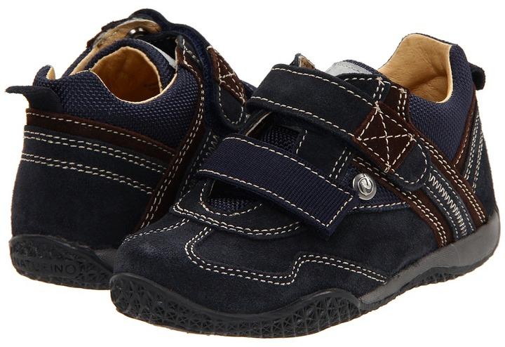 Naturino 4210 FA11 (Toddler/Youth) (Navy/Brown) - Footwear