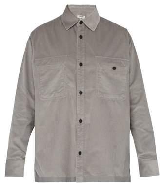 Acne Studios Sigurd Corduroy Shirt - Mens - Grey