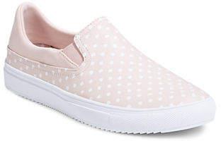 Skechers Printed Slip-On Platform Sneakers