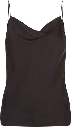 Theory Silk Cowl Neck Camisole
