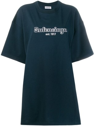 Balenciaga Short-sleeve oversized T-shirt