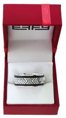 Effy Gento Leather and Sterling Silver Band Ring