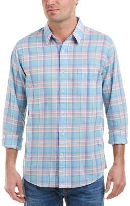 Faherty Summer Blend Ventura Woven Shirt