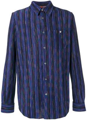 Missoni vertical stripe shirt