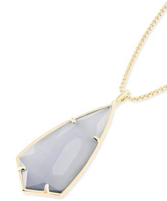 Kendra Scott Carole Long Pendant Necklace in Gold
