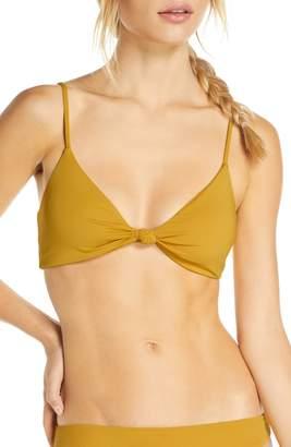 O'Neill O'Neil Salt Water Solids Knot Bikini Top