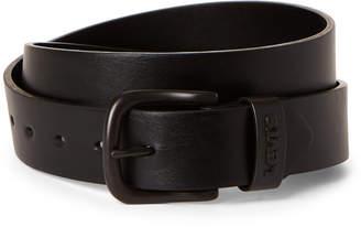 Levi's Black Faux Leather Belt