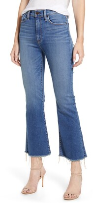 Hudson Jeans Holly Barefoot Crop Flare Jeans