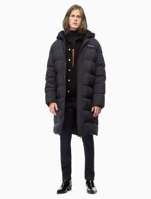 Calvin Klein quilted down parka jacket
