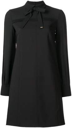 Elisabetta Franchi tie neck shift dress