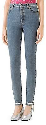 Gucci Women's Star Skinny Jeans