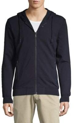 Antony Morato Classic Full-Zip Fleece Hoodie