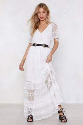 Nasty Gal A Vision of Loveliness Lace Dress