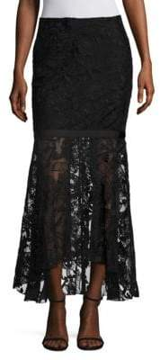 Romance Was Born Philharmonic Lace Skirt