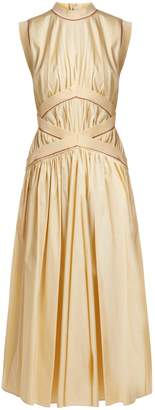 Roksanda Braelyn sleeveless cotton-poplin dress